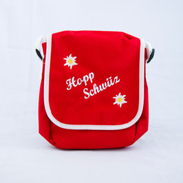 Tasche Hopp Schwiiz - rot