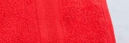 Duschtuch bestickt - rot