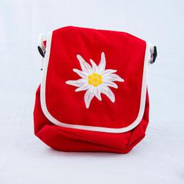 Tasche Edelweiss - rot