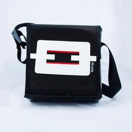 Tasche Schwarz/Weiss/Rot