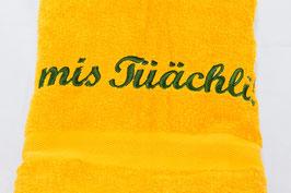 "Duschtuch ""mis Tüächli"" - sonne"