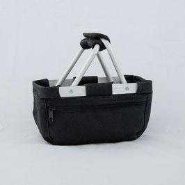 Mini Einkaufskorb - schwarz