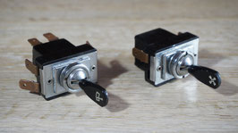 Schalter flach / Toggle switch flat