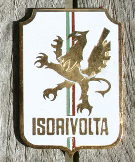 Emblem Crests Badge ISORIVOLTA