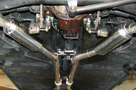 Edelstahlabgasanlage / Stainless steel exhaust system