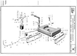 Iso Fidia Benzintank / Fuel tank