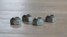 Radmutter Iso 4-Loch Felge / Wheel nut 4 stud rim