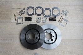 Innenbelüftete Bremsscheiben für Hinterachsbremse  vented discs for rear brake