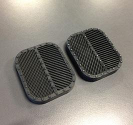 Pedalgummi Bremse und Kupplung / Pedal rubber brake and clutch