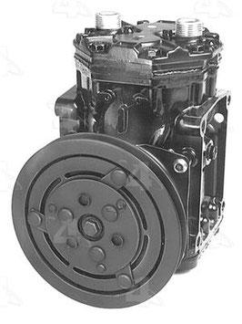 Original Yorck Klimakompressor mit Riemenscheibe/ AC compressor with magnetic cluch