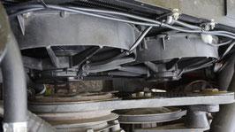 Doppelkühlerlüfter / Double radiator fan