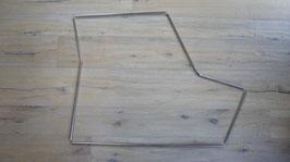 Metallprofil zur Türgummibefestigung/ Mounting steel profil fixing door rubber Rivolta