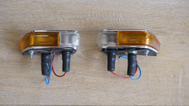 Altissimo Seitenblinker weiß-gelb/ Altissimo indicator lights white-yellow