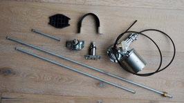 Scheibenwischermechanismus komplett Iso / Wiper system Lucas 14 Watt motor