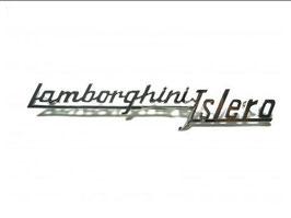 Schriftzug Lamborghini Islero / Script Lamborghini Islero