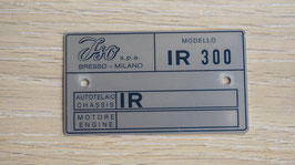 Iso Typenschild / Data type plate