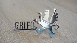 Schriftzug Grifo mit Greif / Script Grifo with Grifo badge