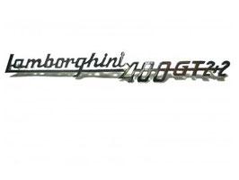 Schriftzug Lamborghini 400 GT 2+2 / Script Lamborghini 400 GT 2+2