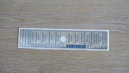 Aufkleber Sicherungskasten symmetrisch / Sticker fuse box symmetric
