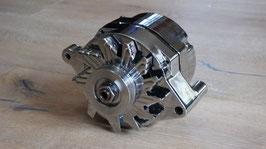 Generator Lichtmaschine / Alternator Chrome Case 12Volt 100Amp