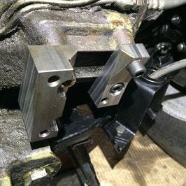 Adapterflansch für Original ZF Servolenkung /  ZF power steering assembly