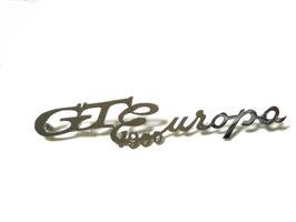 Schriftzug  /Script GT 1900 EUROPA