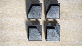Handbremsbeläge Girling / Park brake pads Girling