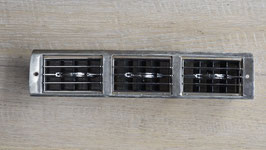Iso Mittelkonsole Luftgitter 3 Auslässe / Iso center console air grille 3 outlets