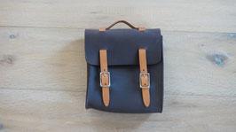 Ledertasche schwarz für Abziehwerkzeug / Leather bag black for knock off tool