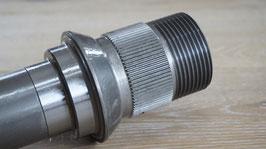 Achsstummel HA Radaufnahme Radnabe für Zentralverschluss / wheel hub stud axle for center mount