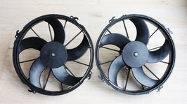 Doppelkühlerlüfter / Double radiator fan