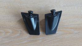 Iso Design Kappen mit Verriegelungsknopf / Door lock cap with pin