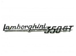 Schriftzug Lamborghini 350 GT / Script Lamborghini 350 GT