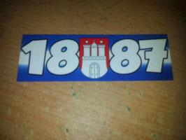 150x 1887 + Stadtwappen Hamburg