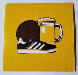 150 Dortmund Bier Ball Schuhe Aufkleber