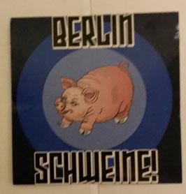 150 Berlin Schweine Aufkleber