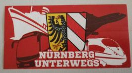 Nürnberg unterwegs Aufkleber