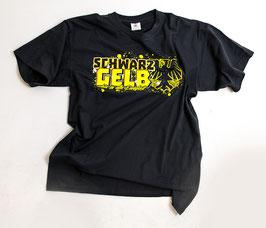 Dortmund Schwarz Gelb bis in alle Ewigkeit Shirt Schwarz