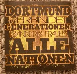 150 Dortmund verbindet Nationen Aufkleber