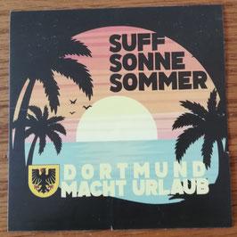 Dortmund macht Urlaub Aufkleber