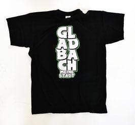 Gladbach meine Stadt untereinander Shirt Schwarz