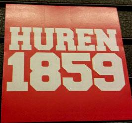 150 Huren 1859 Anti München Blau Aufkleber