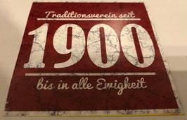 150 München Traditionsverein seit 1900 bis in alle Ewigkeit Aufkleber