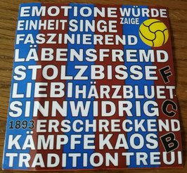 Basel Emotionen Singe Faszinierend Aufkleber