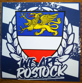 150 We are Rostock Aufkleber