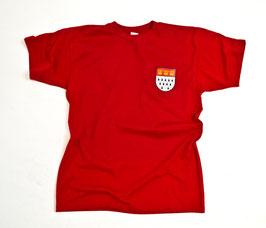 Köln Stadtwappen Brust Shirt Rot