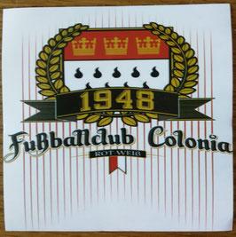 Köln Fussballclub Colonia 1948 Lorbeerkranz Aufkleber