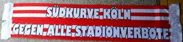 Köln gegen alle Stadionverbote Seidenschal