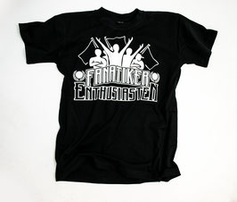 Fanatiker Shirt Schwarz