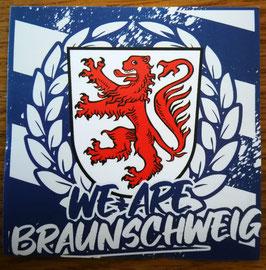 150 We are Braunschweig Aufkleber